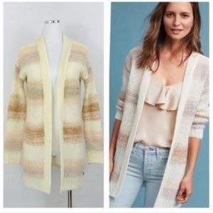 Anthropologie chunky knit cardigan
